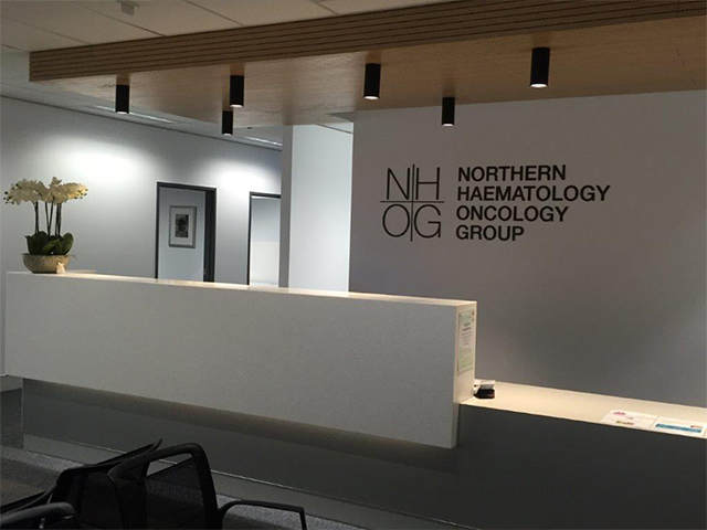 Northern Haematology Oncology Group rooms